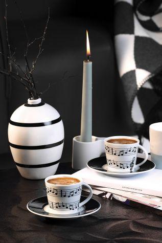 Kütahya Porselen - Kütahya Porselen Bitmeyen Senfoni Kahve Fincan Takımı