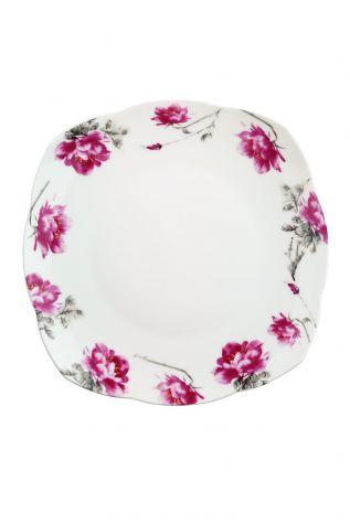Kütahya Porselen Bone China 44 Parça 50102 Desen Kahvaltı Takımı - Thumbnail (1)