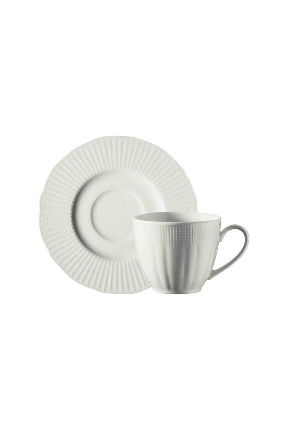 Kütahya Porselen Bone İlay Kahve Fincan Takımı