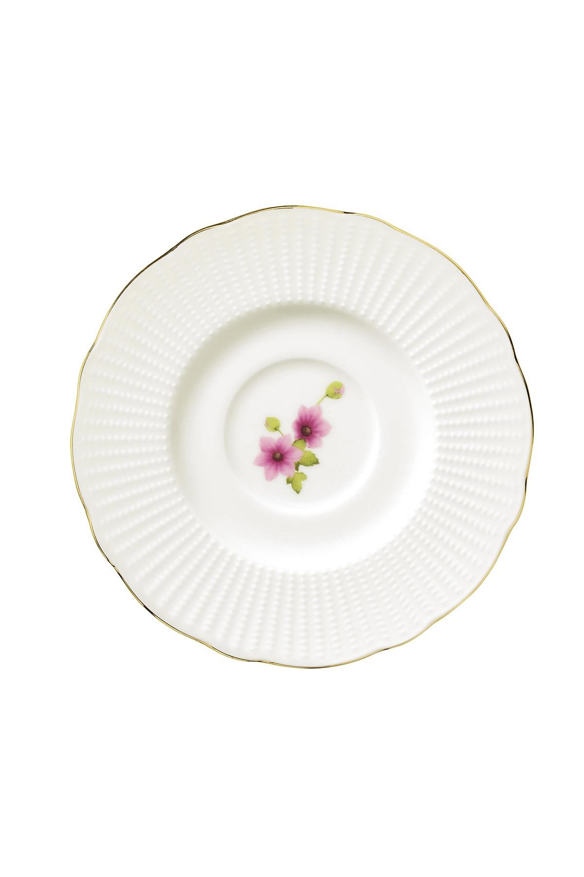 Kütahya Porselen Bone İlay 36 Parça 9838 Desen Kahvaltı Takımı