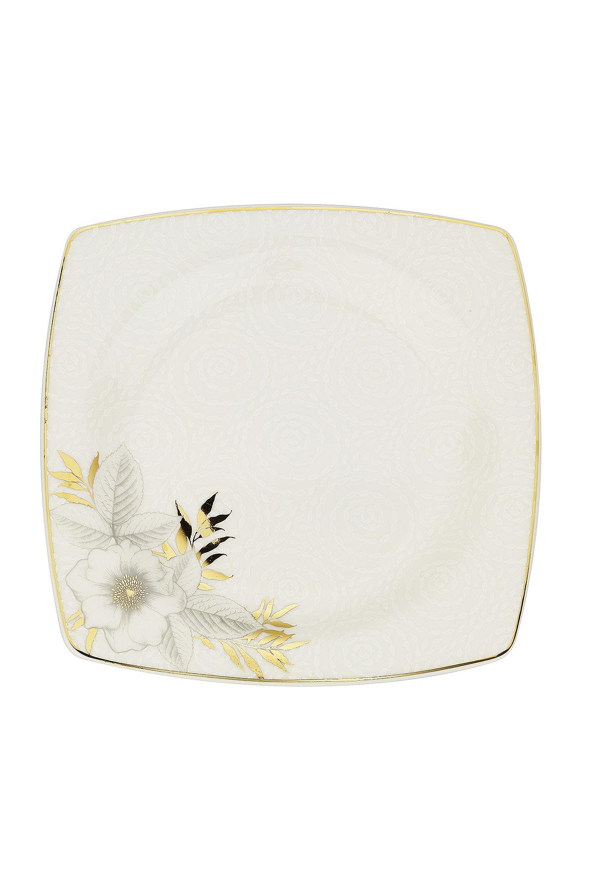 Kütahya Porselen Bone Mare 68 Parça 10364 Desenli Yemek Takımı