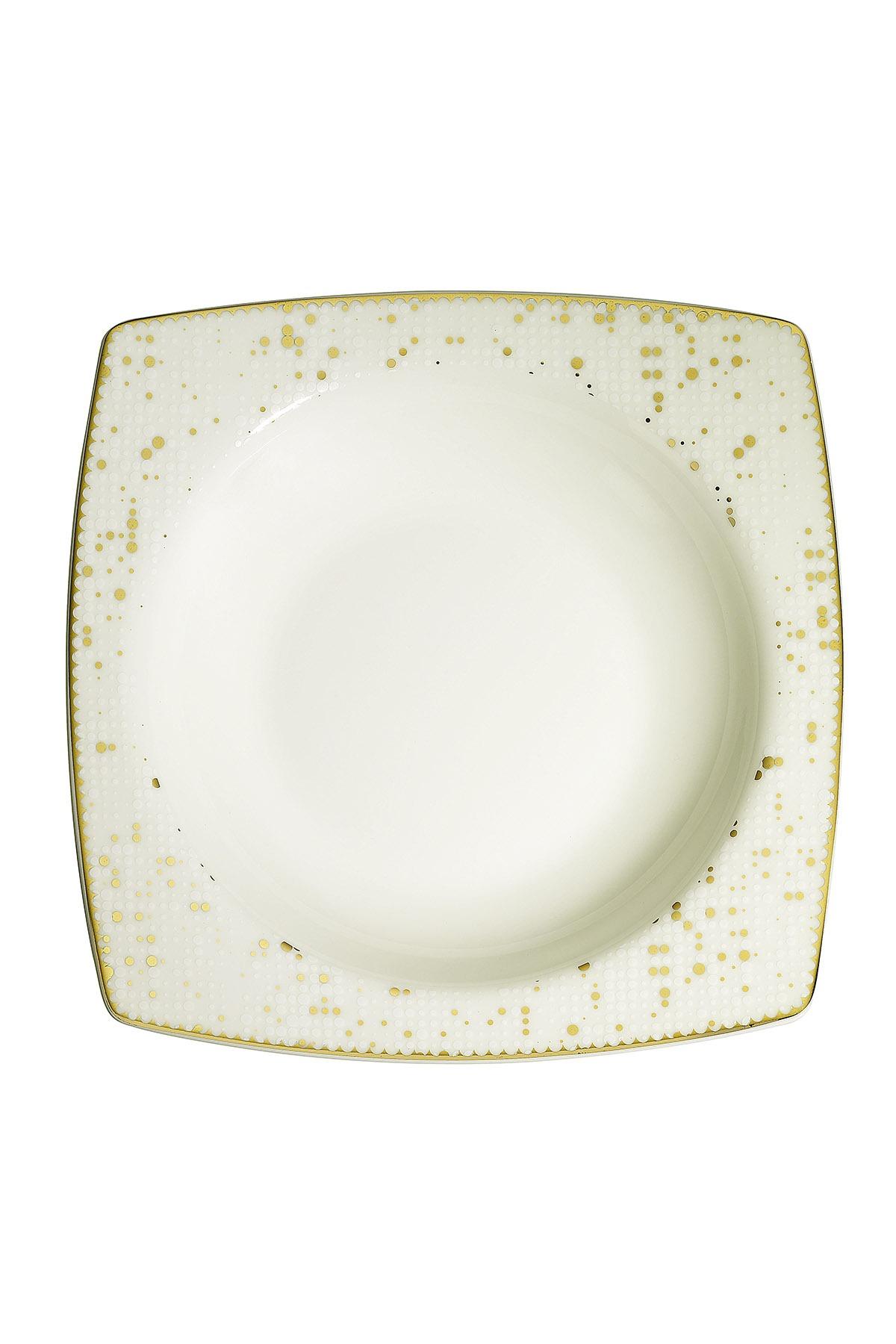 Kütahya Porselen Bone Mare 68 Parça 10372 Desenli Yemek Takımı