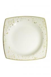 Kütahya Porselen Bone Mare 68 Parça 10372 Desenli Yemek Takımı - Thumbnail