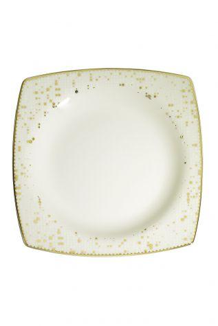 Kütahya Porselen Bone Mare 68 Parça 10372 Desenli Yemek Takımı - Thumbnail (3)