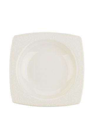 Kütahya Porselen Bone Mare 68 Parça 9849 Desenli Yemek Takımı - Thumbnail (2)