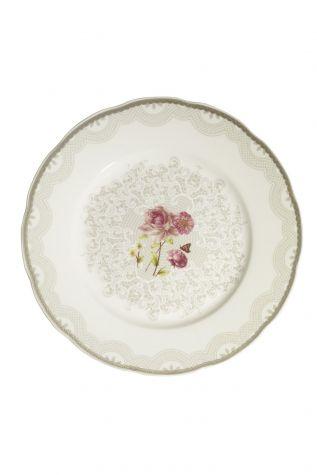 Kütahya Porselen Bone Olympos 68 Parça 10046 Desenli Yemek Takımı - Thumbnail (3)