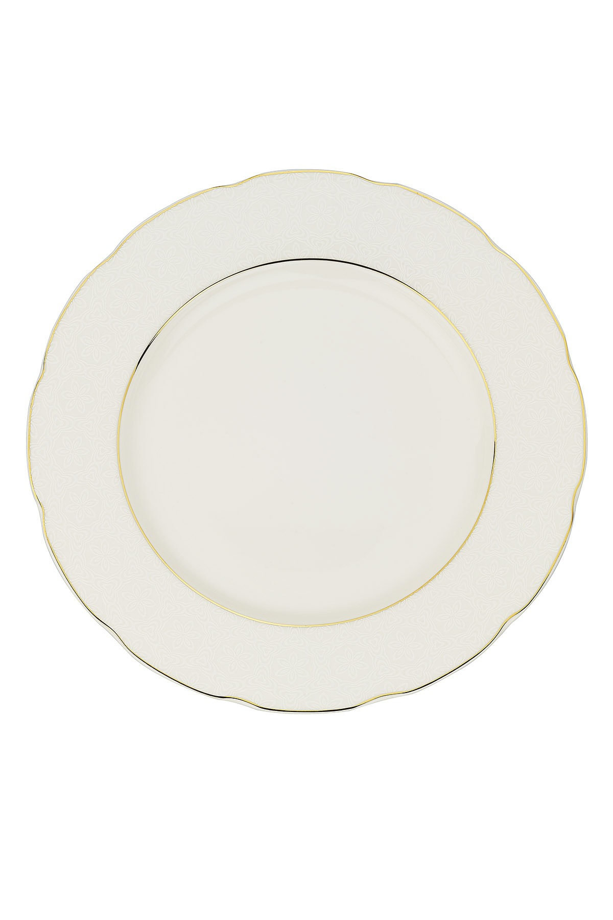 Kütahya Porselen Bone Olympos 68 Parça 10068 Desenli Yemek Takımı