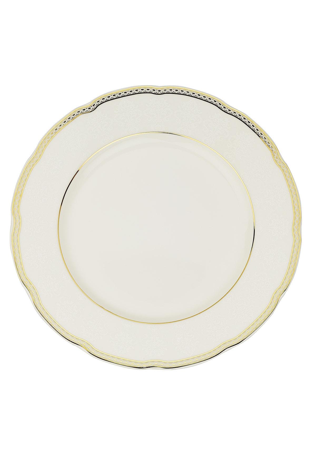 Kütahya Porselen Bone Olympos 68 Parça 10164 Desenli Yemek Takımı