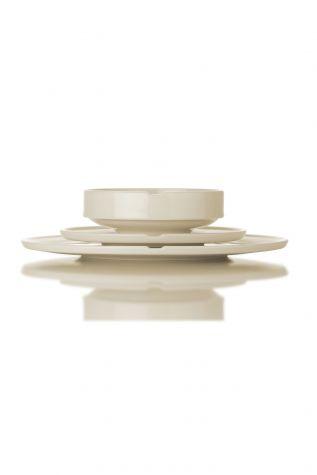 Kütahya Porselen Chef Taste Of 12 cm Joker Kase Krem - Thumbnail (3)