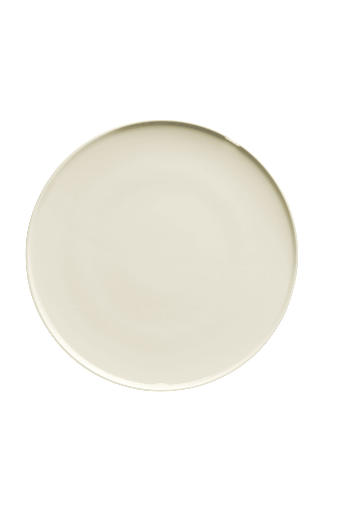 Kütahya Porselen Chef Taste Of 21 cm Düz Tabak Krem