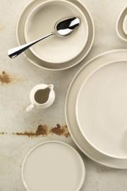 Kütahya Porselen Chef Taste Of 21 cm Düz Tabak Krem - Thumbnail