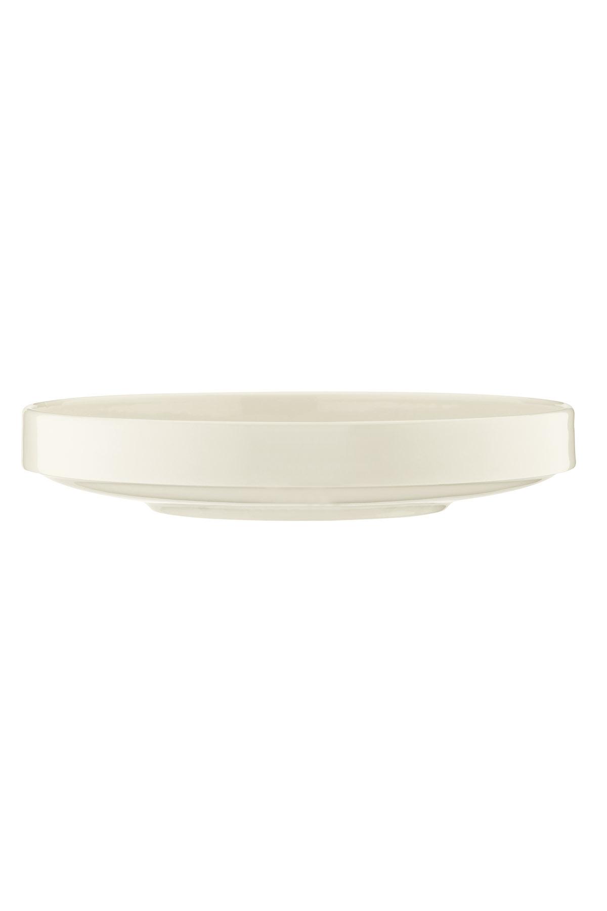 Kütahya Porselen - Kütahya Porselen Chef Taste Of 24 cm Çukur Tabak Krem