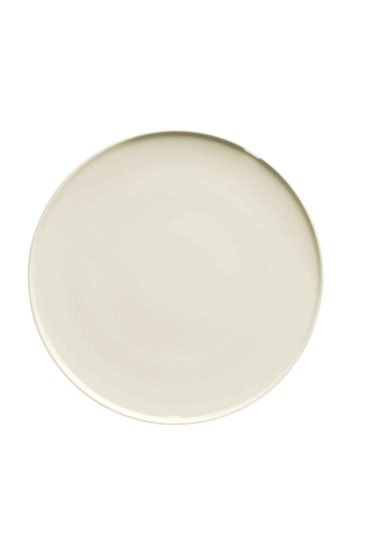 Kütahya Porselen - Kütahya Porselen Chef Taste Of 25 cm Düz Tabak Krem