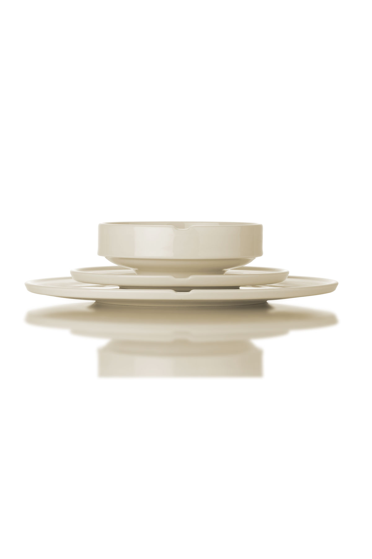 Kütahya Porselen Chef Taste Of 32 cm Kayık Tabak Krem