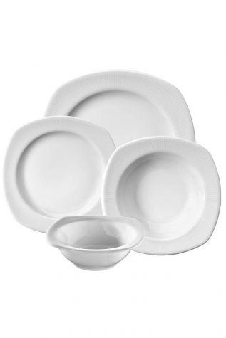 Kütahya Porselen Çisil 24 Parça Yemek Seti - Thumbnail (3)