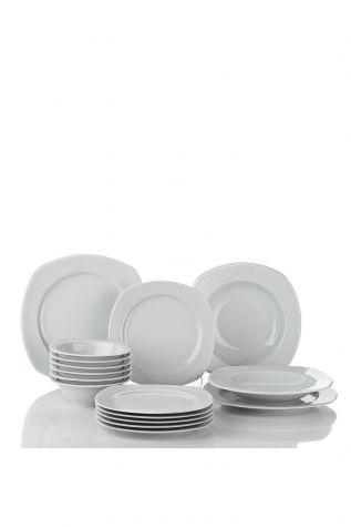 Kütahya Porselen Çisil 24 Parça Yemek Seti - Thumbnail (2)