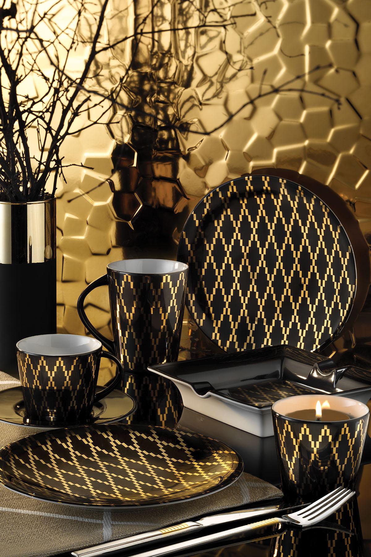 Kütahya Porselen Design Studio 10106 Desen Çay Takımı