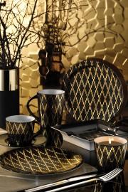 Kütahya Porselen Design Studio 10106 Desen Çay Takımı - Thumbnail