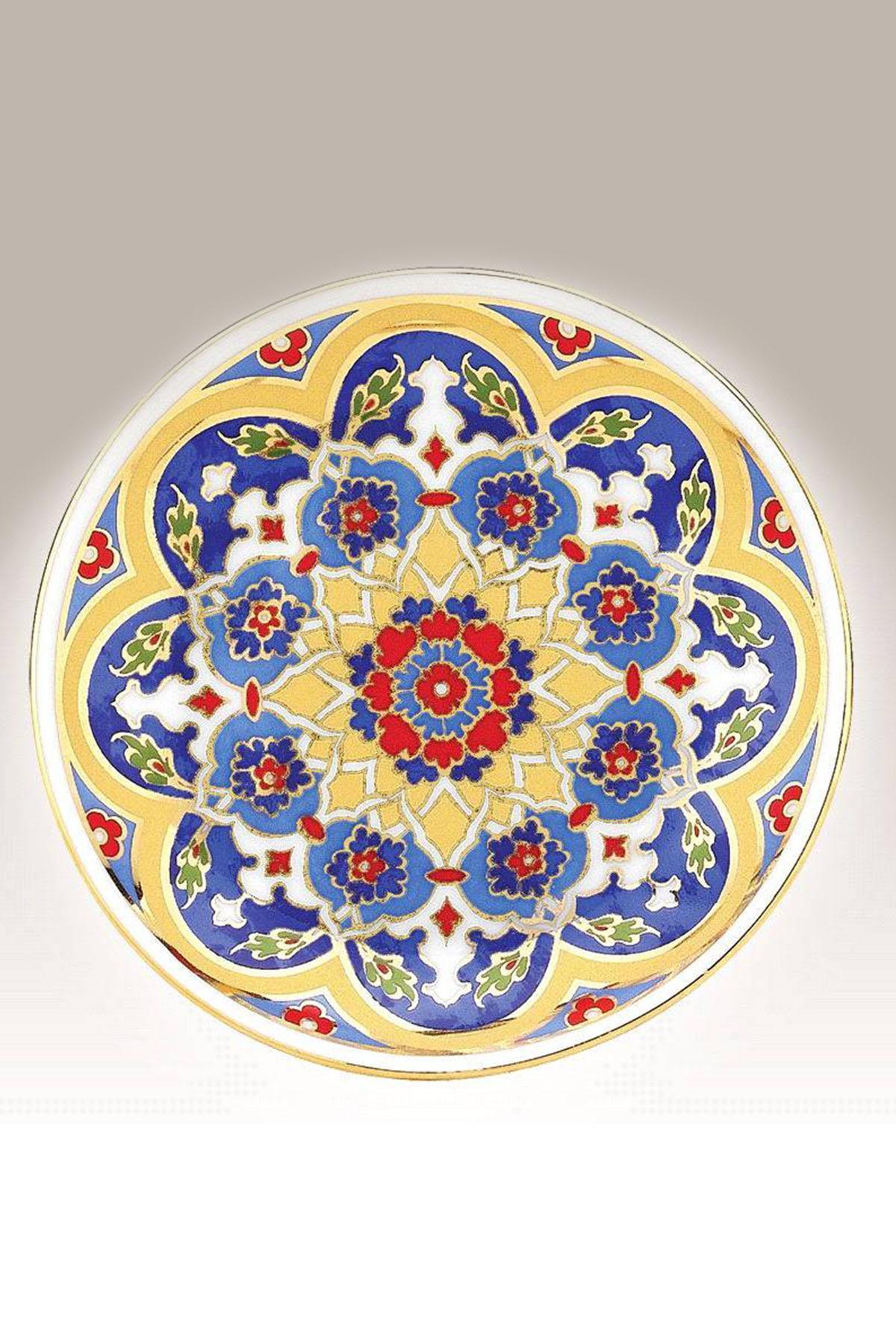 Kütahya Porselen - Duvar Tabağı 10 Cm Dekor No:3881