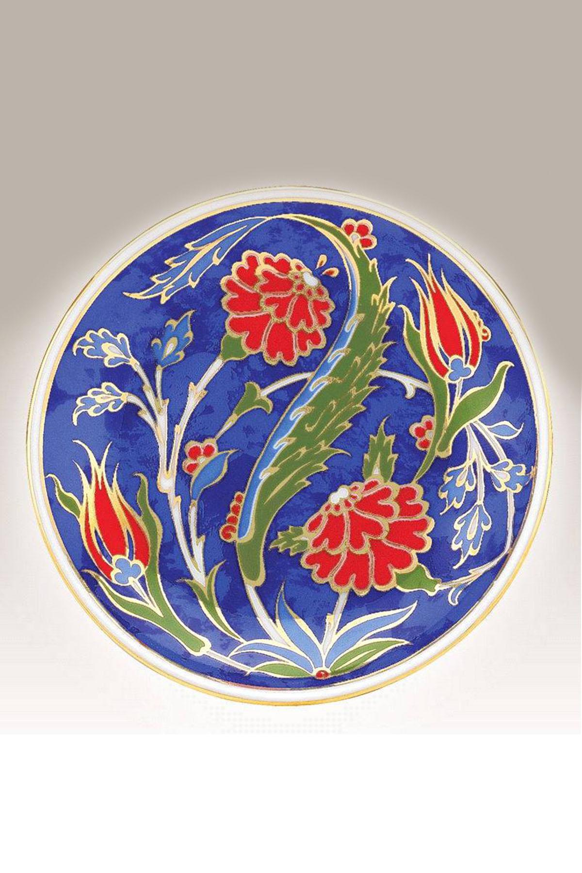Kütahya Porselen - Duvar Tabağı 10 Cm Dekor No:3883
