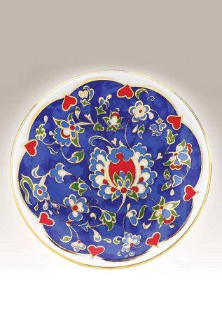 Kütahya Porselen - Duvar Tabağı 10 cm Dekor No:3884