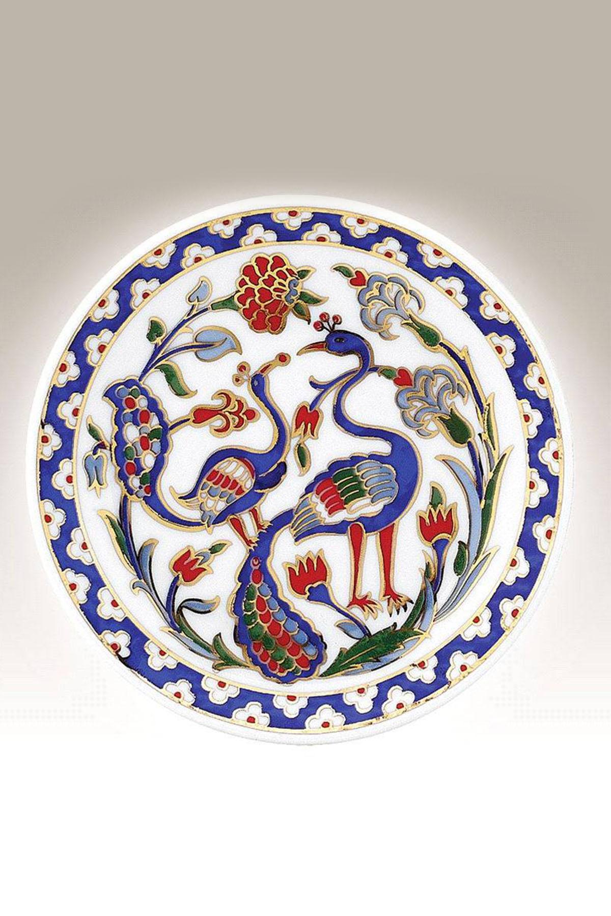 Kütahya Porselen - Duvar Tabağı 10 Cm Dekor No:176