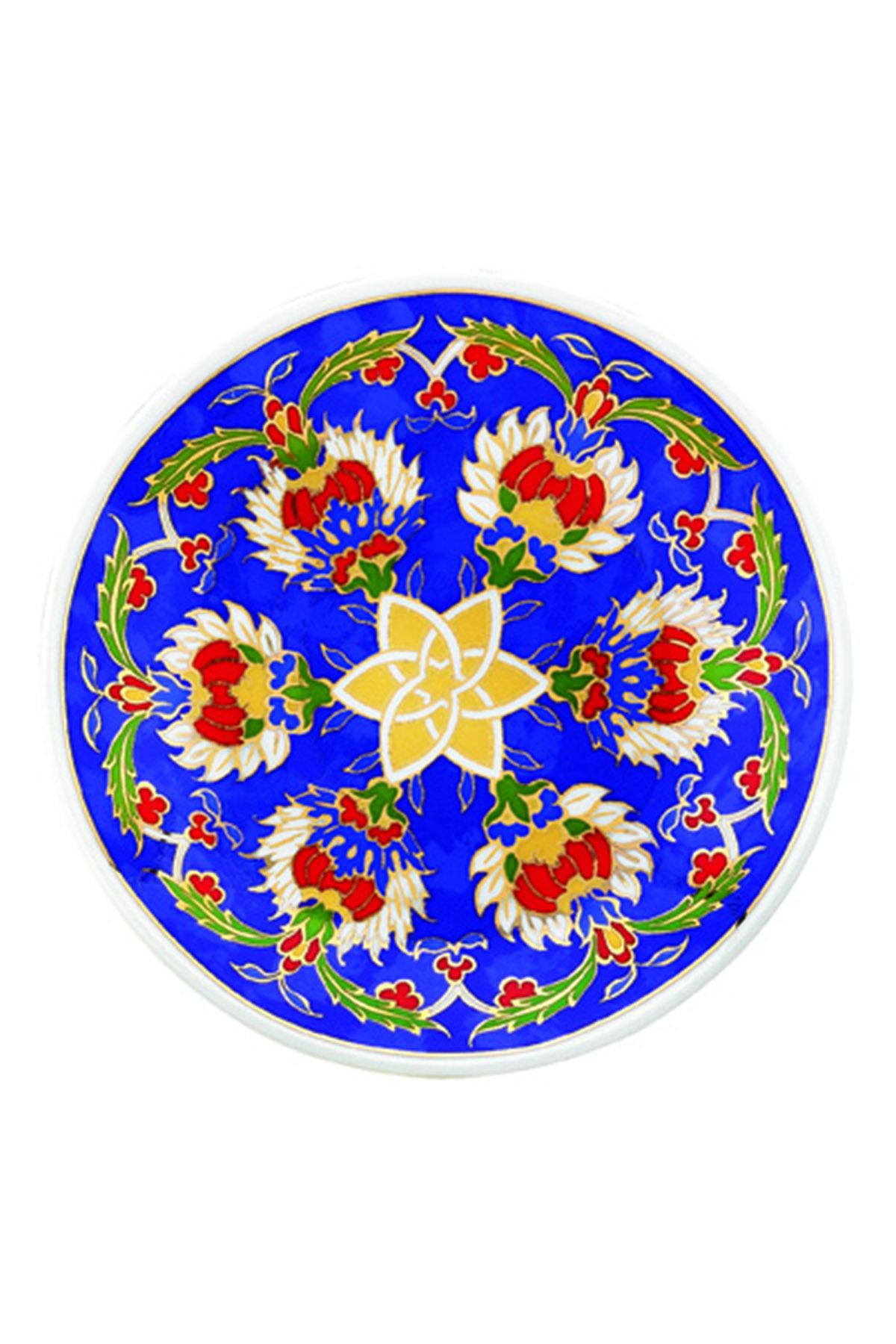 KÜTAHYA PORSELEN - Duvar Tabağı 13 Cm Dekor No:3883