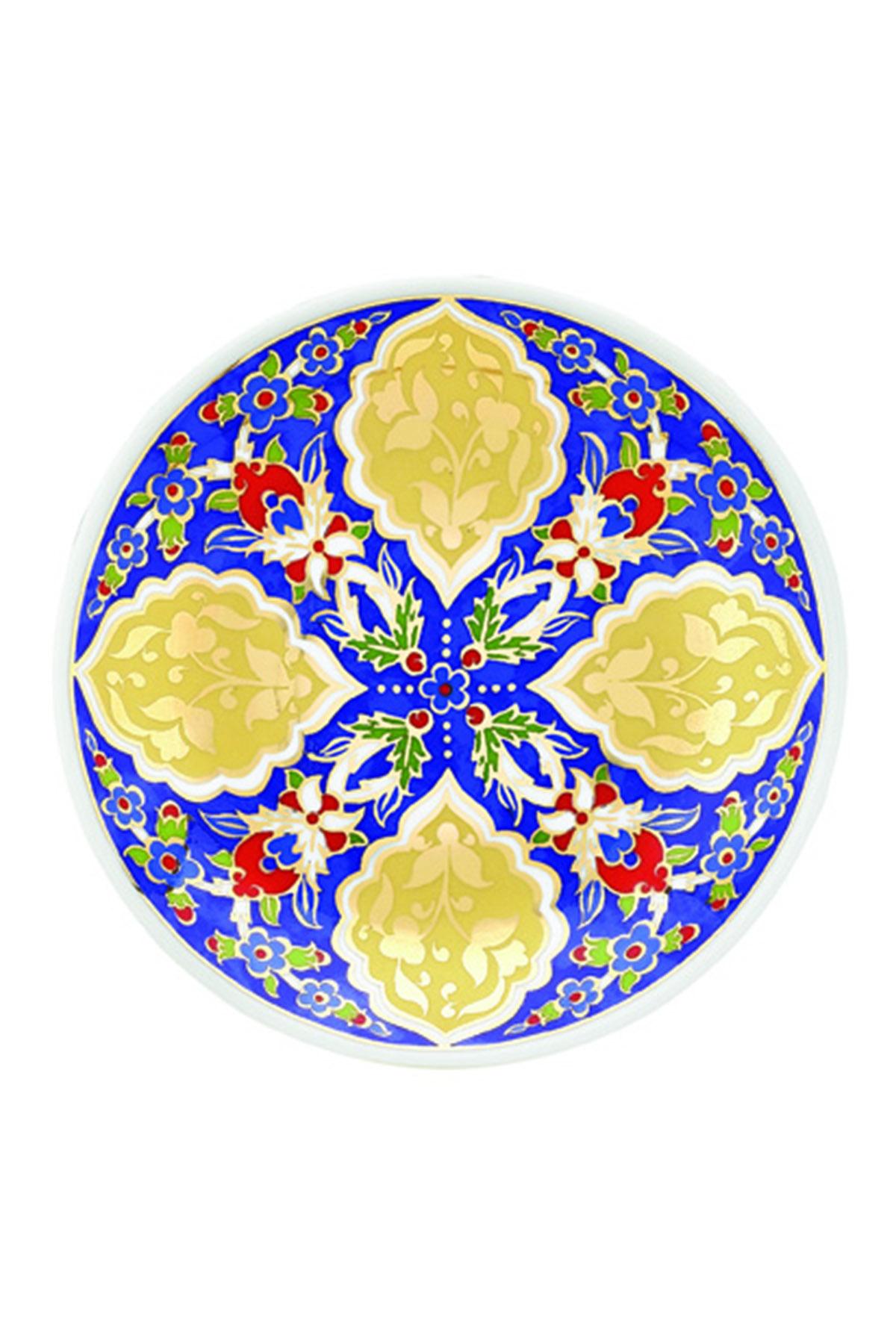 KÜTAHYA PORSELEN - Duvar Tabağı 13 Cm Dekor No:3880