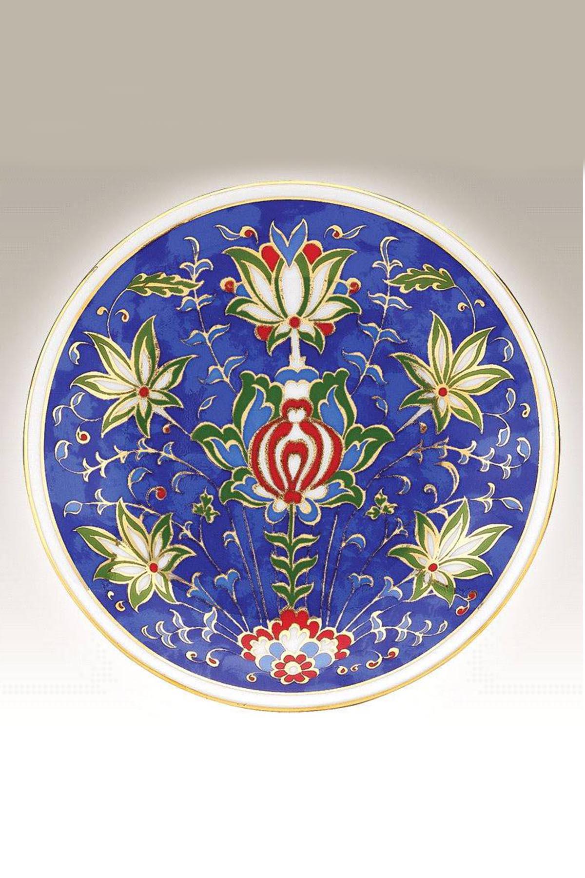Kütahya Porselen - Kütahya Porselen El Yapımı 13cm Tabak No 13
