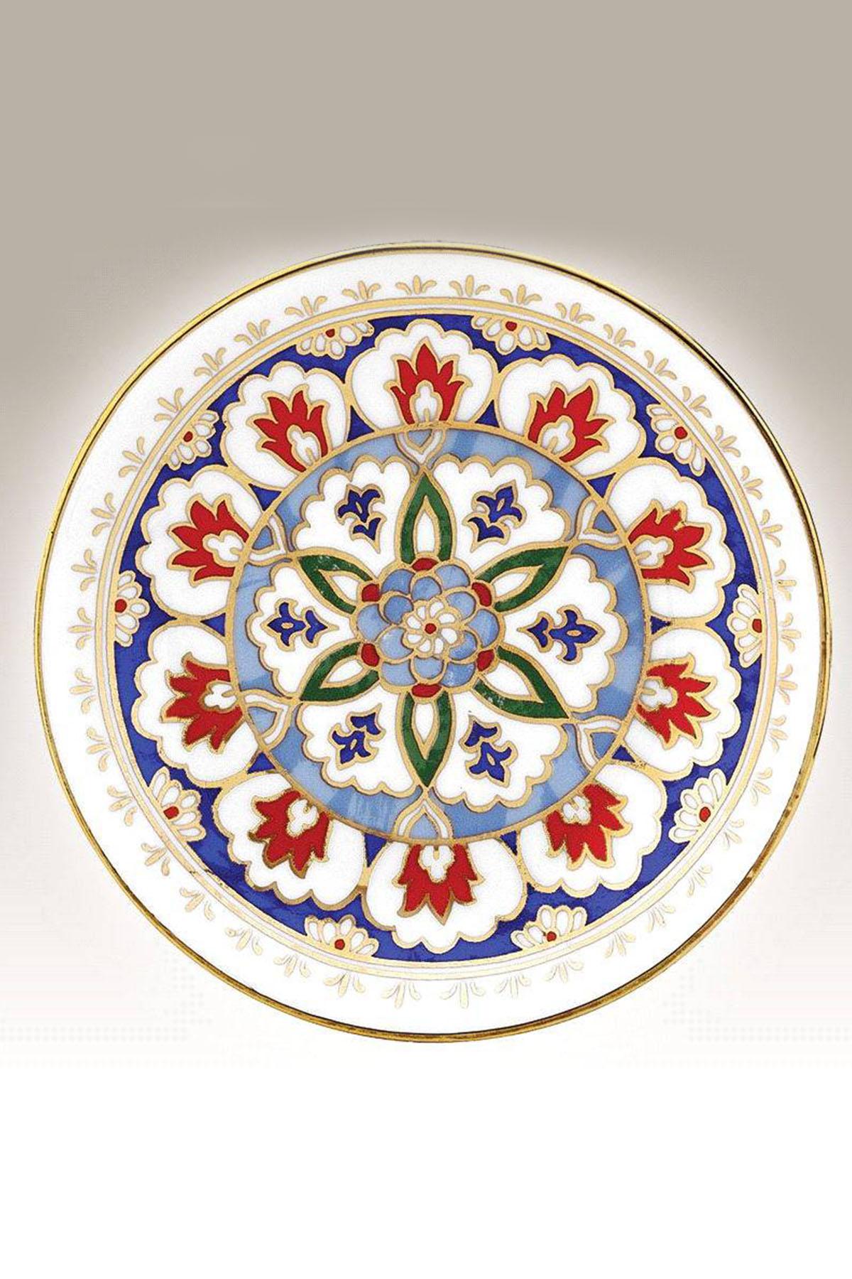 Kütahya Porselen - Duvar Tabağı 13 Cm Dekor No:171