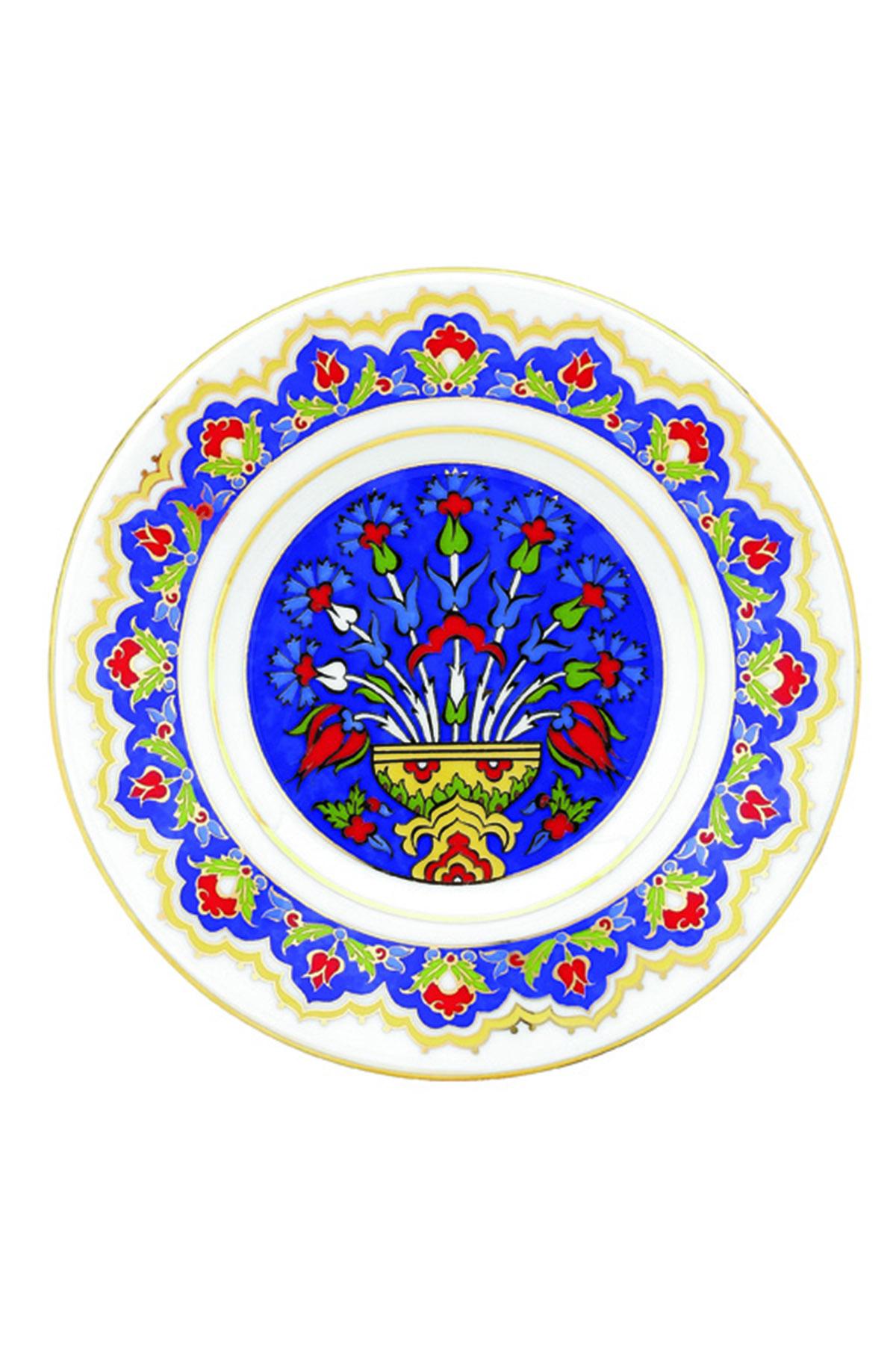 KÜTAHYA PORSELEN - Duvar Tabağı 17 Cm Dekor No:3884