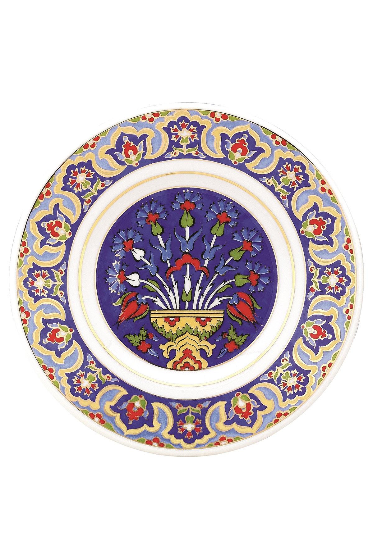 Kütahya Porselen - Duvar Tabağı 17 Cm Dekor No:3883