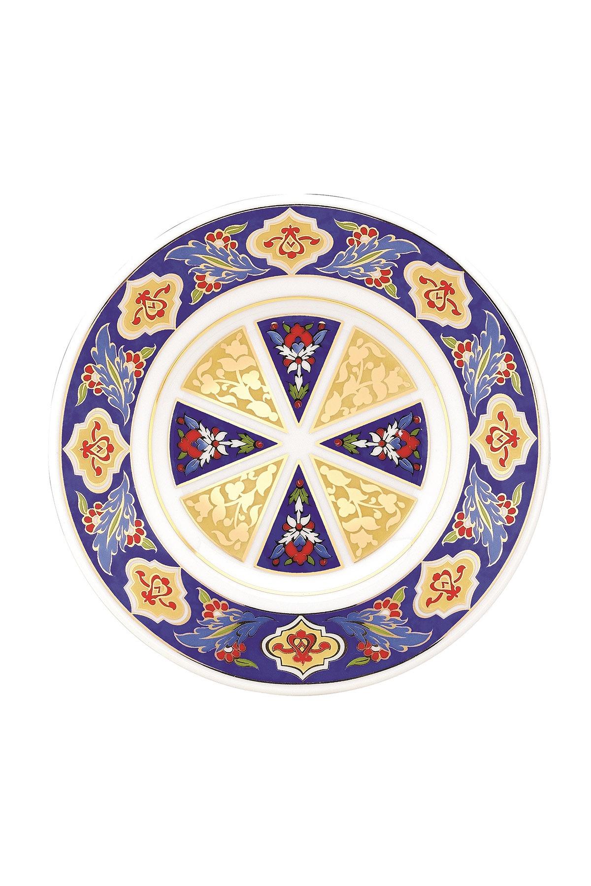 KÜTAHYA PORSELEN - Duvar Tabağı 17 Cm Dekor No:3885