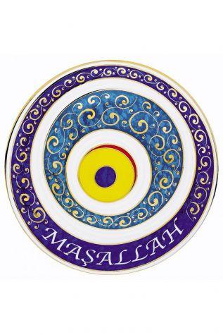 KÜTAHYA PORSELEN - Nazarlık 20 cm Dekor No:382