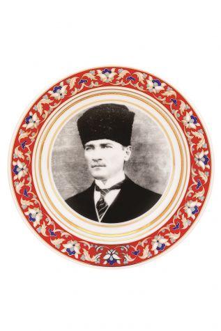 Kütahya Porselen - Kütahya Porselen Lenger 25 cm Duvar Tabağı Dekor No: 1881