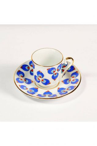 KÜTAHYA PORSELEN - Kütahya Porselen 569 Desen Kahve Fincan Takımı