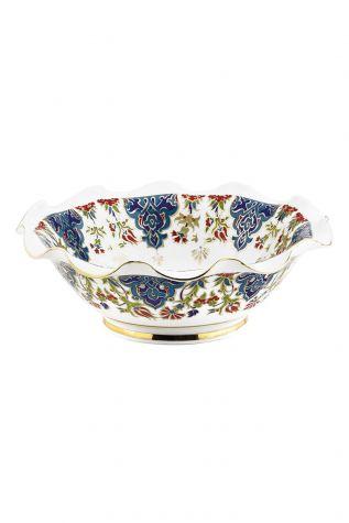 Kütahya Porselen - Kütahya Kase Dekor 20 cm No:415