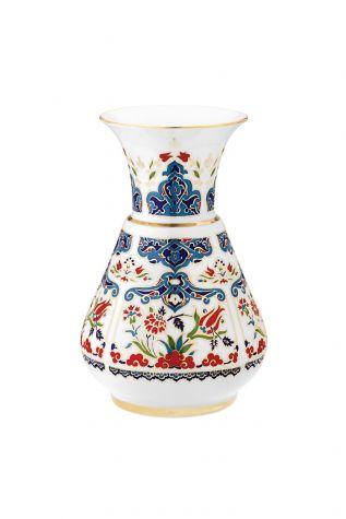 KÜTAHYA PORSELEN - Kandil Vazo 20 cm Dekor No:415