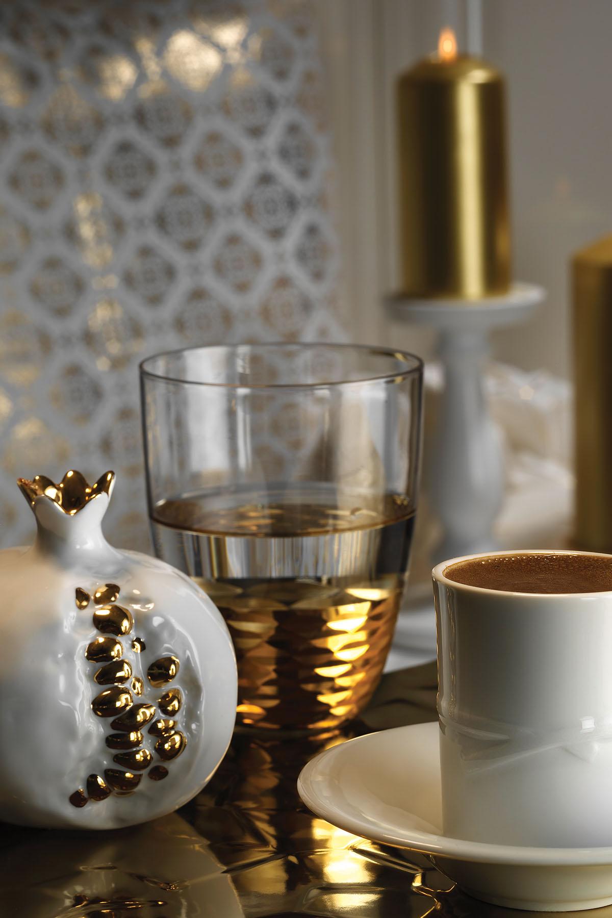 Kütahya Porselen - Kütahya Porselen Elegance Kahve Takımı