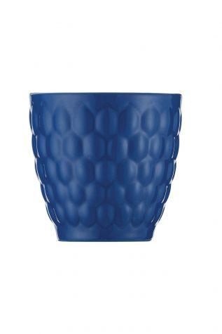 Kütahya Porselen Favo 2'li Mug Seti Lacivert - Thumbnail (1)