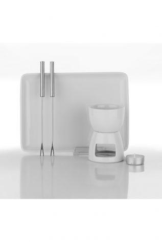 Kütahya Porselen Fondü Set - Thumbnail (2)