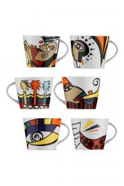 Kütahya Porselen Free Time Çay Takımı - Thumbnail