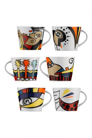 Kütahya Porselen Free Time Kahve Takımı - Thumbnail (1)