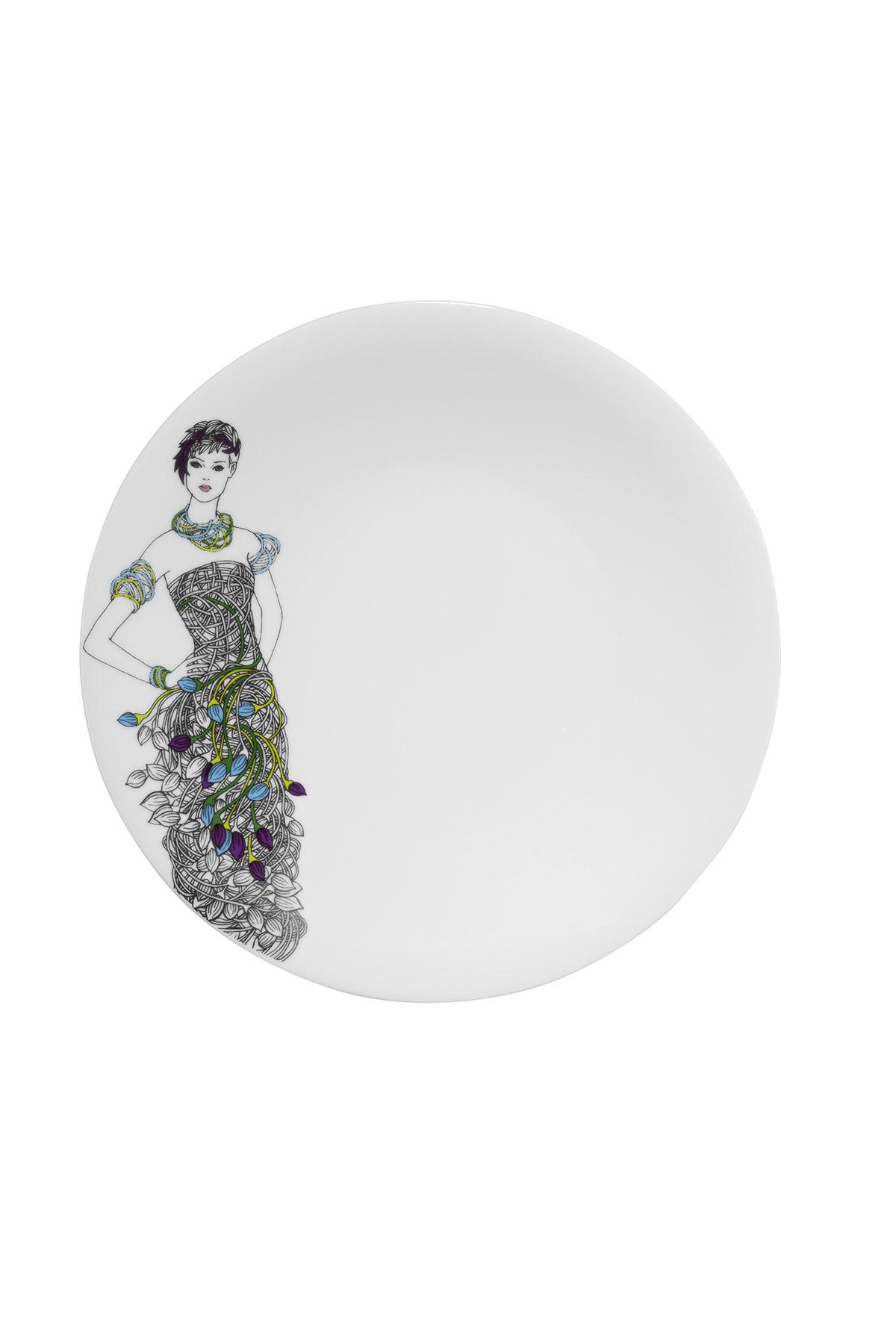 Kütahya Porselen Kadınlarım Serisi 9440 Desen 24 Parça Yemek Seti