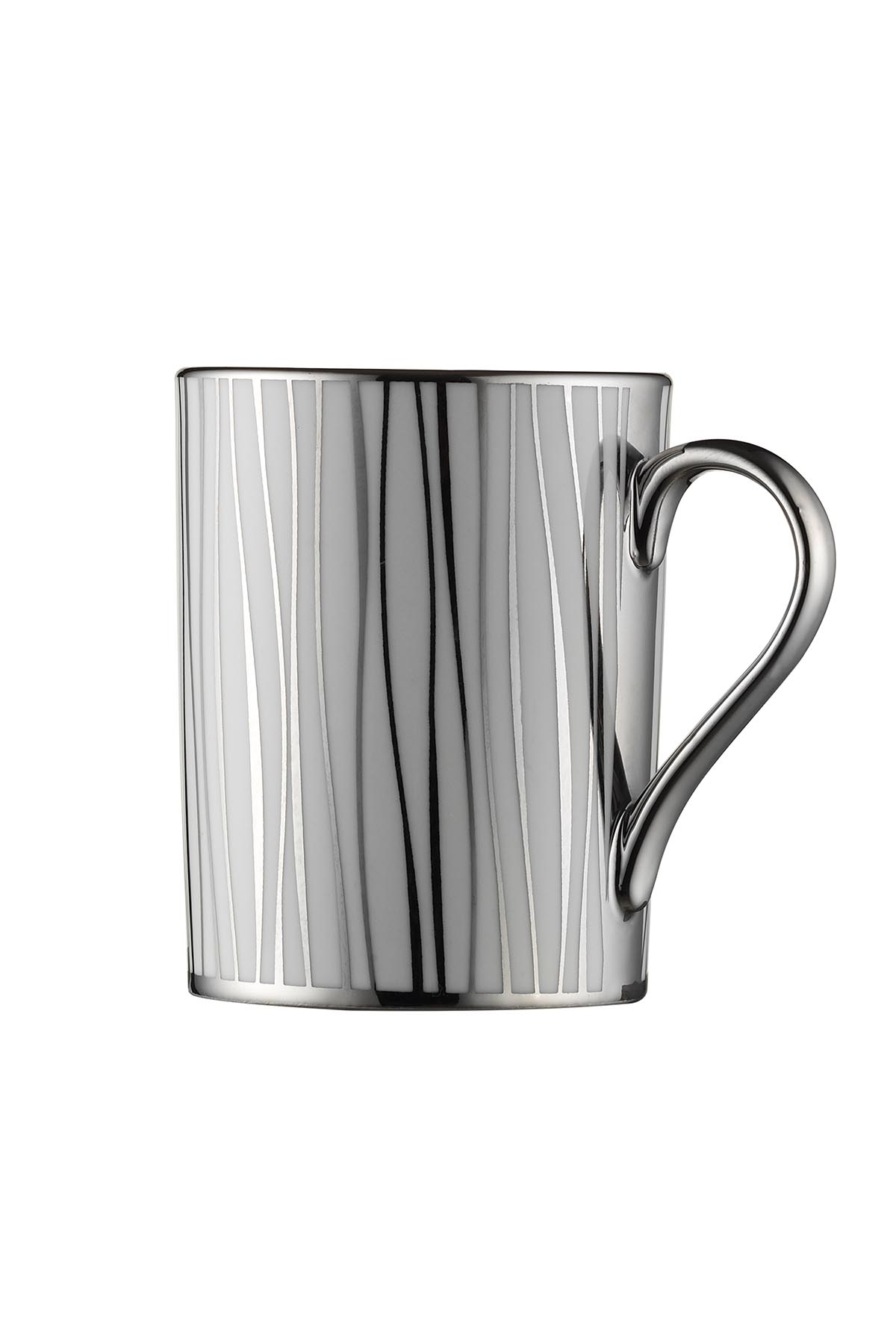 Kütahya Porselen Forest 2′li Mug Bardak Platin 10925