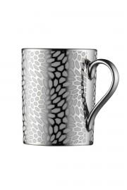 Kütahya Porselen Forest 2 prime;li Mug Bardak Platin 10927 - Thumbnail