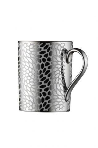 Kütahya Porselen Forest 2 prime;li Mug Bardak Platin 10927 - Thumbnail (2)