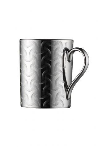 Kütahya Porselen Forest 2 prime;li Mug Bardak Platin 10930 - Thumbnail (1)