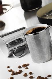 Kütahya Porselen Forest 2 prime;li Mug Bardak Platin 10930 - Thumbnail