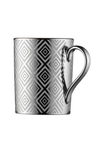 Kütahya Porselen Forest 2′li Mug Bardak Platin 10932 - Thumbnail (1)